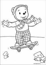 Rupert Bear coloring page (023)