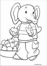 Rupert Bear coloring page (024)