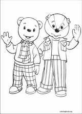 Rupert Bear coloring page (026)