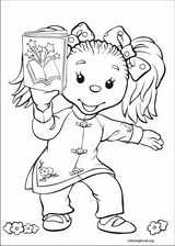 Rupert Bear coloring page (027)