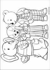 Rupert Bear coloring page (028)