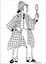 Sherlock Holmes coloring page (008)
