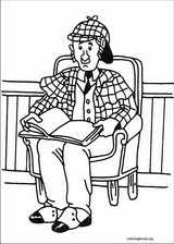 Sherlock Holmes coloring page (010)