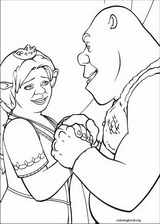 Shrek The Third coloring page (007)