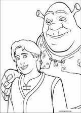 Shrek The Third coloring page (009)
