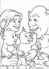 Shrek The Third coloring page (016)