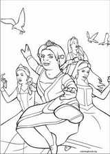 Shrek The Third coloring page (032)