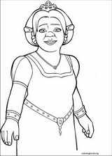 Shrek The Third coloring page (033)