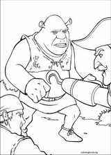 Shrek The Third coloring page (037)