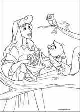 Sleeping Beauty coloring page (006)