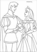 Sleeping Beauty coloring page (008)