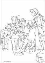 Sleeping Beauty coloring page (015)