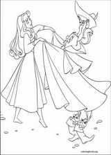 Sleeping Beauty coloring page (016)