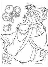 Sleeping Beauty coloring page (025)
