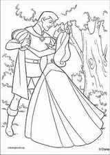 Sleeping Beauty coloring page (027)