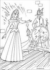 Sleeping Beauty coloring page (028)