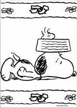 Snoopy coloring page (004)