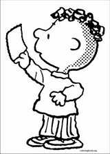 Snoopy coloring page (011)