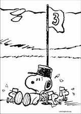Snoopy coloring page (028)