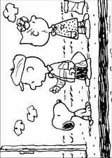 Snoopy coloring page (032)