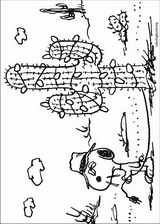 Snoopy coloring page (037)