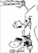 Snoopy coloring page (039)