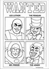 Super Friends coloring page (002)