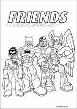 Super Friends coloring page (010)