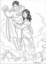 Superman coloring page (007)