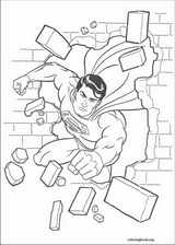 Superman coloring page (010)