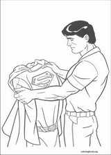 Superman coloring page (011)
