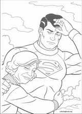 Superman coloring page (021)