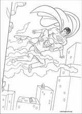 Superman coloring page (023)