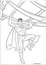 Superman coloring page (026)