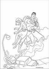 Superman coloring page (035)