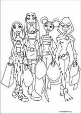 Teen Titans coloring page (028)