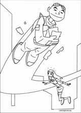 Teen Titans coloring page (030)