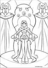 Teen Titans coloring page (035)