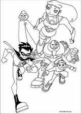 Teen Titans coloring page (036)