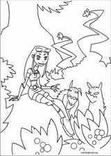 Teen Titans coloring page (037)