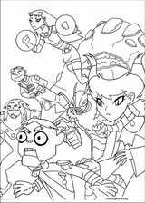 Teen Titans coloring page (038)