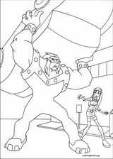 Teen Titans coloring page (039)