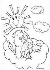 The Care Bears coloring page (027)