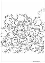 The Care Bears coloring page (053)