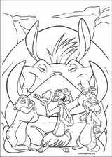 The Lion King coloring page (003)