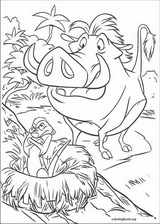 The Lion King coloring page (008)