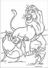 The Lion King coloring page (019)