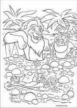 The Lion King coloring page (020)