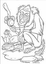 The Lion King coloring page (032)