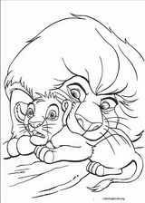 The Lion King coloring page (039)